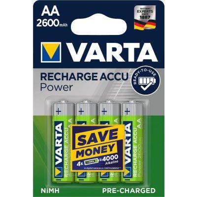 VARTA RECHARGE ACCU Power AA 2600mAh Blister 4
