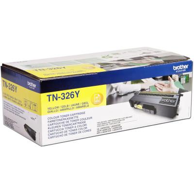 Brother Toner TN-326Y Gelb (ca. 3500 Seiten)