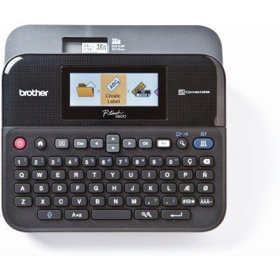 Brother P-touch D600VP Desktop Beschriftungsgerät...