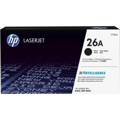 HP Toner 26A Schwarz (ca. 3.100 Seiten)