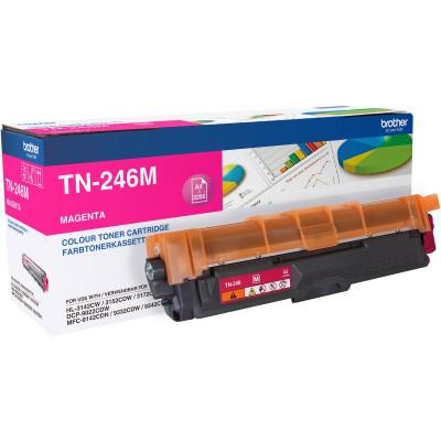 Brother Toner TN-246M Magenta (ca. 2200 Seiten)