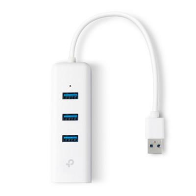 TP-Link UE330 USB 3.0 Gigabit Ethernet Adapter mit USB Hub