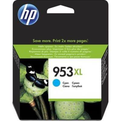HP Tintenpatrone Nr. 953 F6U12AE Cyan (ca. 700 Seiten)
