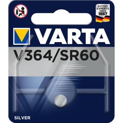 VARTA Knopfzellenbatterie Electronics V364 (SR60) Silber