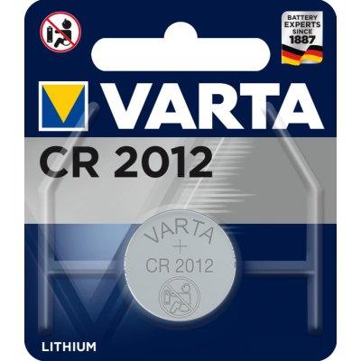 VARTA ELECTRONICS CR2012 Blister 1 Lithium