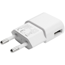 3er-Pack AXXTRA 1.0 Amp Single USB Wall Charger (White)