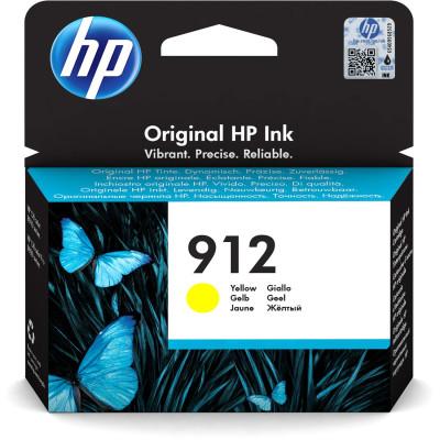 HP Tintenpatrone Nr. 912 3YL79AE Gelb (ca. 315 Seiten)