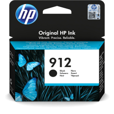 HP Tintenpatrone Nr. 912 3YL80AE Schwarz (ca. 300 Seiten)