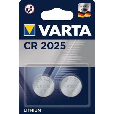 VARTA Knopfzellenbatterie Electronics CR2025 Lithium...