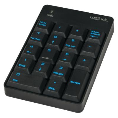 Keypad, kabellos 2,4Ghz, Numblock