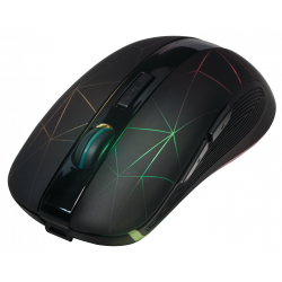 Maus, Wireless 2,4G Mouse, Optisch, schwarz, LED...