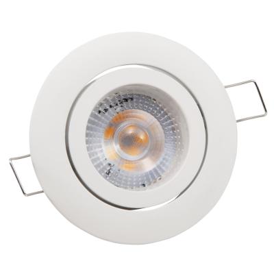 LED-Einbauleuchte McShine Eco-50 5W, 400lm, 3000K,...