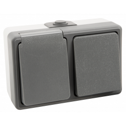 Feuchtraum Kombi-Dose McPower Secure 250V~,...