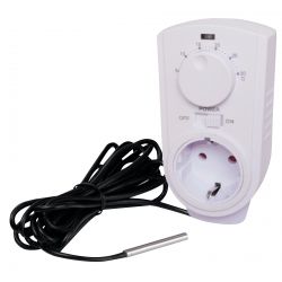 Steckdosen-Thermostat McPower TCU-440 5-30°C, 3500W,...