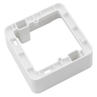 Aufputz-Rahmen McPower Cup 80x80x45mm, mit Montagebohrung