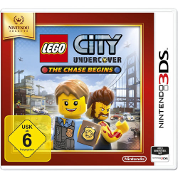 LEGO City Undercover Nintendo 3DS SELECTS The Chase Begins