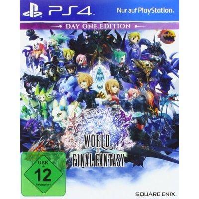FF World of PS4 Playstation 4 World of Final Fantasy