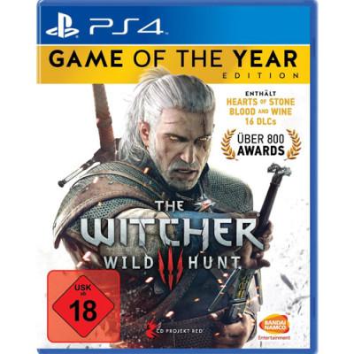 Witcher 3 PS4 Playstation 4 Wild Hunt GOTY