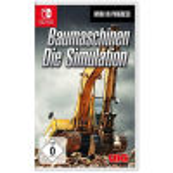 Baumaschinen Spiel für Nintendo Switch Die Simulation