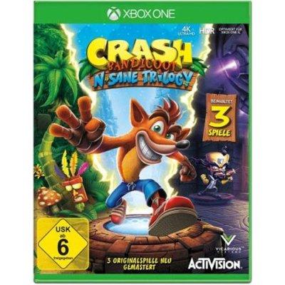Crash Bandicoot Xbox One N-Sane Tril.