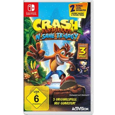 Crash Bandicoot Switch N-Sane Tril. inkl. 2 Bonus Level