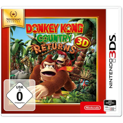 Donkey Kong Country Returns 3D Nintendo 3DS SELEC TS