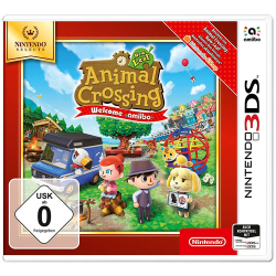 Animal Crossing Nintendo 3DS New Leaf SELECTS Welcome Amiibo