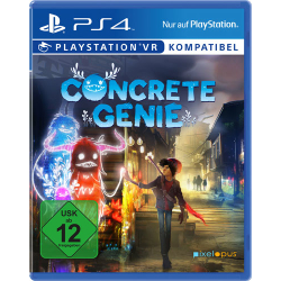 Concrete Genie PS4 Playstation 4 VR kompatibel