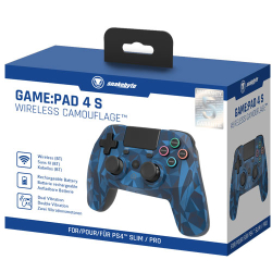 PS4 Controller Game:Pad 4S wirel. camo Snakebyte...