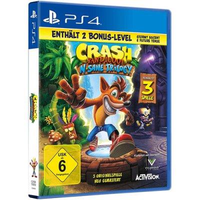 Crash Bandicoot PS4 Playstation 4 NEU + 2 BonusLVL N-Sane...