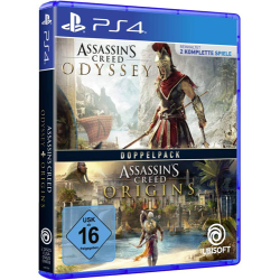 AC Doppelpack Odyssey + Origins PS4 Playstation 4...
