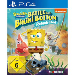 SpongeBob BFBB Rehydrated PS4 Playstation 4 Battle for...