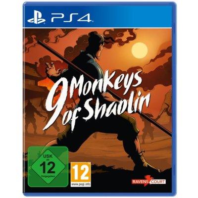 9 Monkeys of Shaolin PS4 Playstation 4