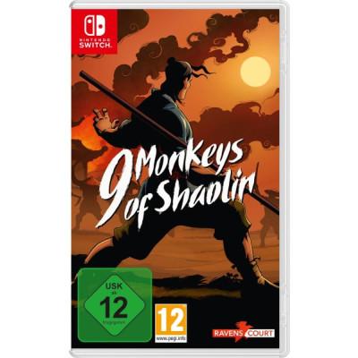 9 Monkeys of Shaolin Spiel für Nintendo Switch