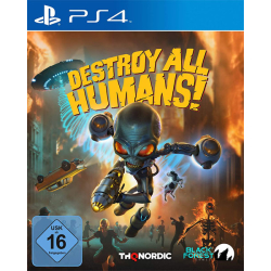 Destroy all Humans! PS4 Playstation 4