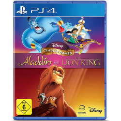 Disney Classic Collection PS4 Playstation 4 Aladdin &...
