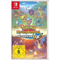 Pokemon Mystery Dungeon Switch Rescue Team