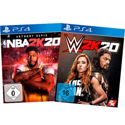 2k20 Sportsbundle PS4 Playstation 4 WWE + NBA 2k20