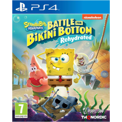 SpongeBob BFBB Rehydrated PS4 Playstation 4 AT Battle for...
