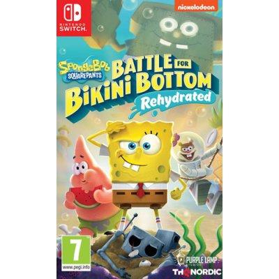 SpongeBob BFBB Rehydrated Switch AT Battle for Bikini...
