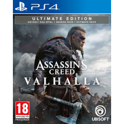 AC Valhalla PS4 Playstation 4 Ultimate Edition AT...