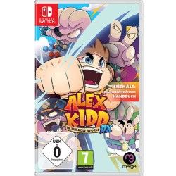 Alex Kidd Switch In Miracle World