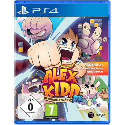Alex Kidd PS4 Playstation 4 In Miracle World