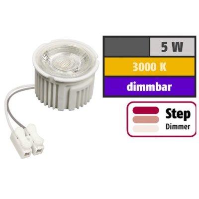 McShine LED Modul MCOB 5W/3000K/400lm/20000h/IP20/50x33mm/dimLMX - Dimmbar