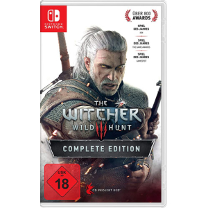 Witcher 3 Switch Wild Hunt Light Ed. Complete Edition DEENG
