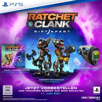 Ratchet & Clank - Rift Apart inkl. Pre-Order Bonus - PS5 PlayStation 5 - Deutsch