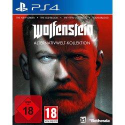 Wolfenstein Spiel für PS4 Alternativwelt Coll. New OrderOld BloodYoungbloodWS 2 USK+AT