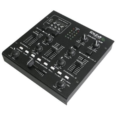 2-Kanal Mischpult IBIZA DJM200USB Bluetooth, USB,...