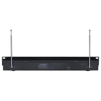 VHF-Funkmikrofon-Set IBIZA VHF4H 4-Kanäle, bis zu...