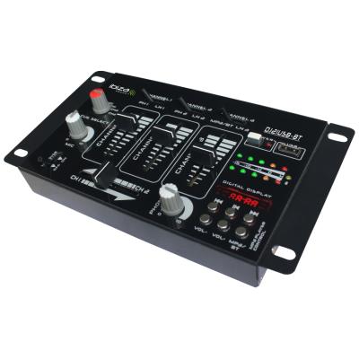 4-Kanal Mischpult IBIZA DJ21USB-BT Bluetooth, USB, 7...